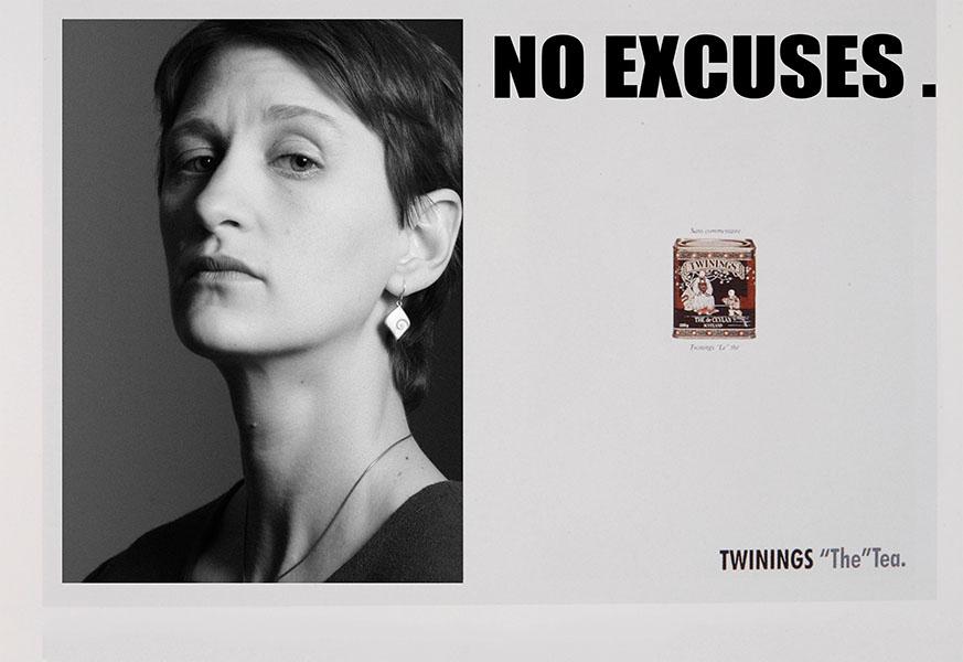 Reinterpretation einer Twinings-Kampagne. Gemacht während der Ausbildung. Model: Jana H&M: Jana